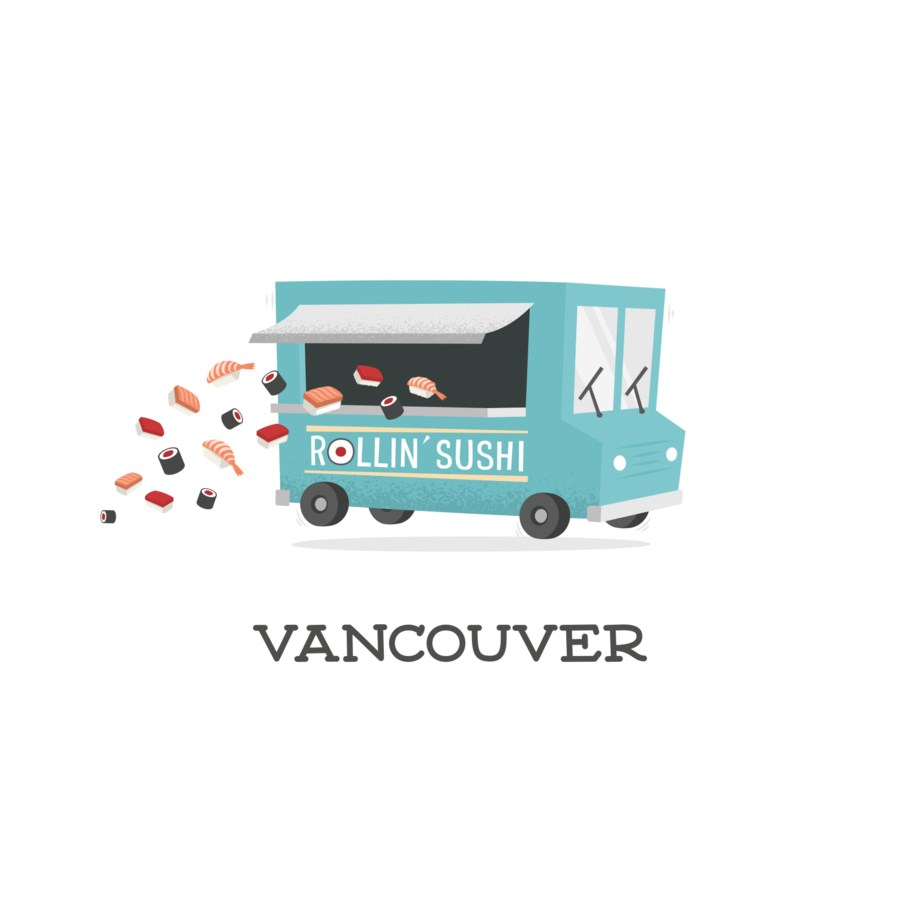 Vancouver Food Truck|Halfpenny