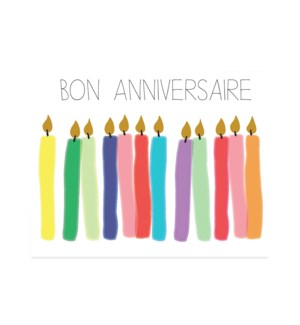 Birthday Candles French|Halfpenny