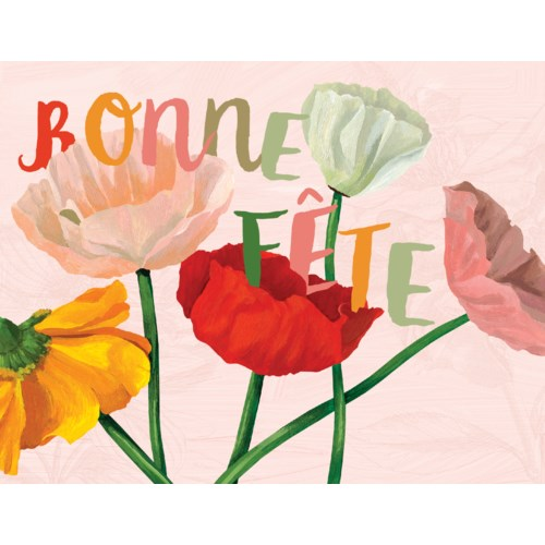 French Poppies|Halfpenny