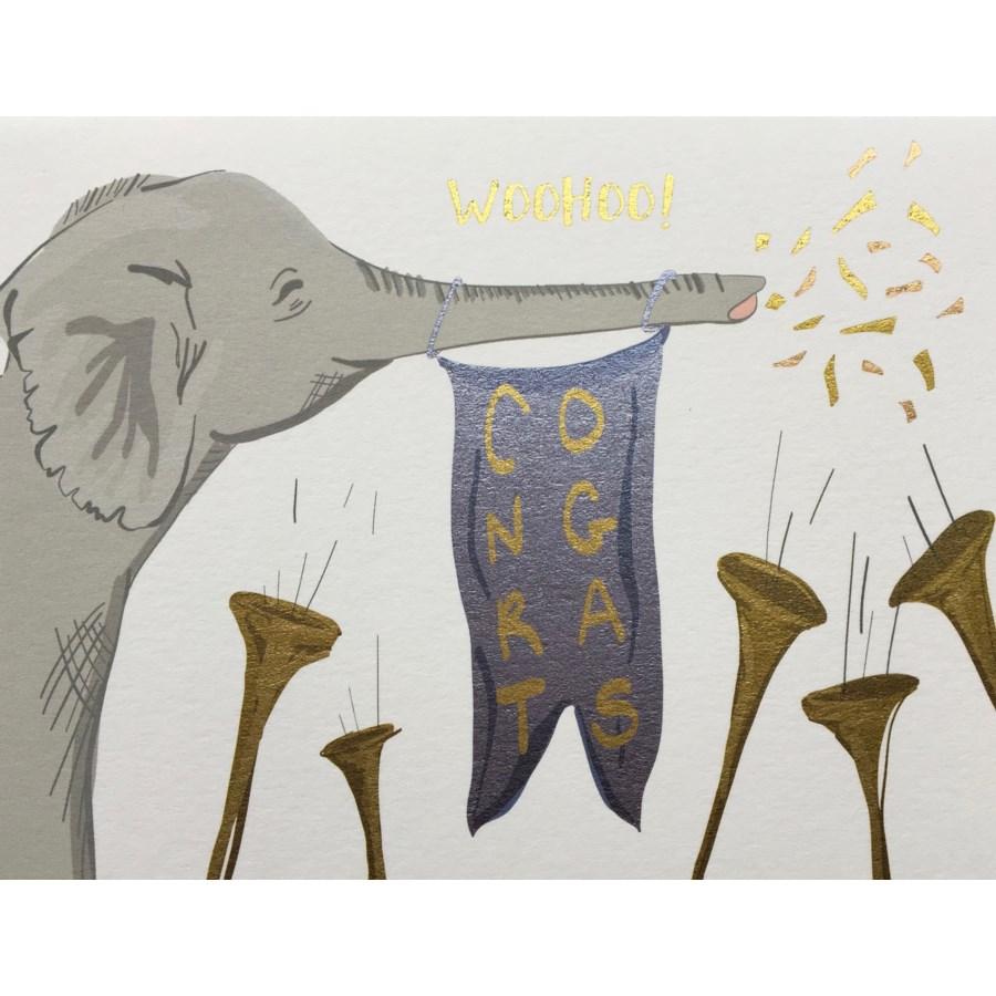 Elephant Congrats Halfpenny