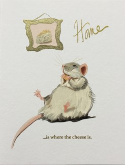 Home is Where the Cheese is Halfpenny