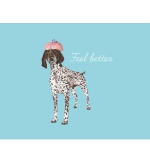 Feel better dog|Halfpenny