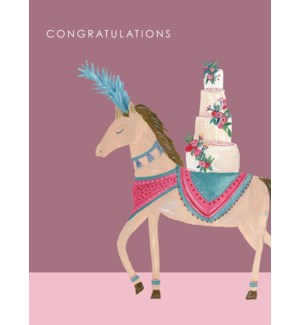 Horse with Wedding Cake|Halfpenny