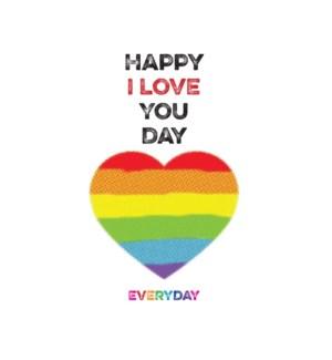 Rainbow Heart|Halfpenny