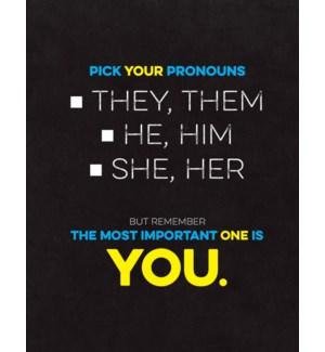 Pick Your Pronoun|Halfpenny