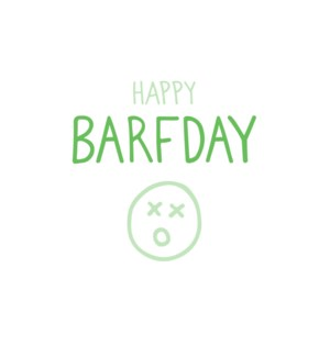 Barfday Halfpenny