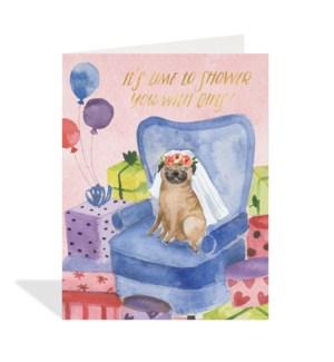 Pug Wedding Shower|Halfpenny