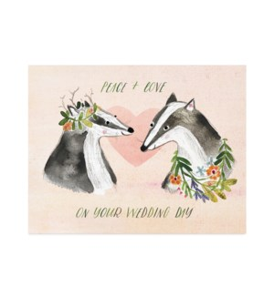 Badger Wedding|Halfpenny