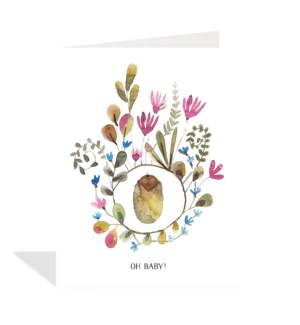 Baby Floral|Halfpenny