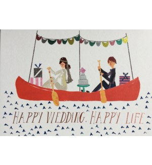 Wedding Canoe|Halfpenny