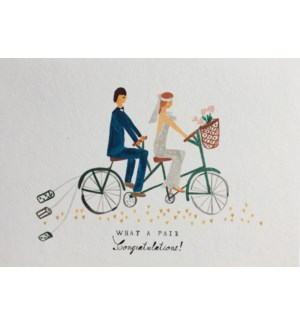 Wedding Tandem|Half Penny