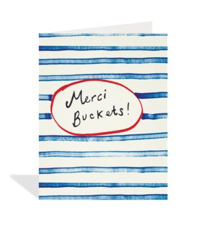 Merci Buckets Stripes|Halfpenny