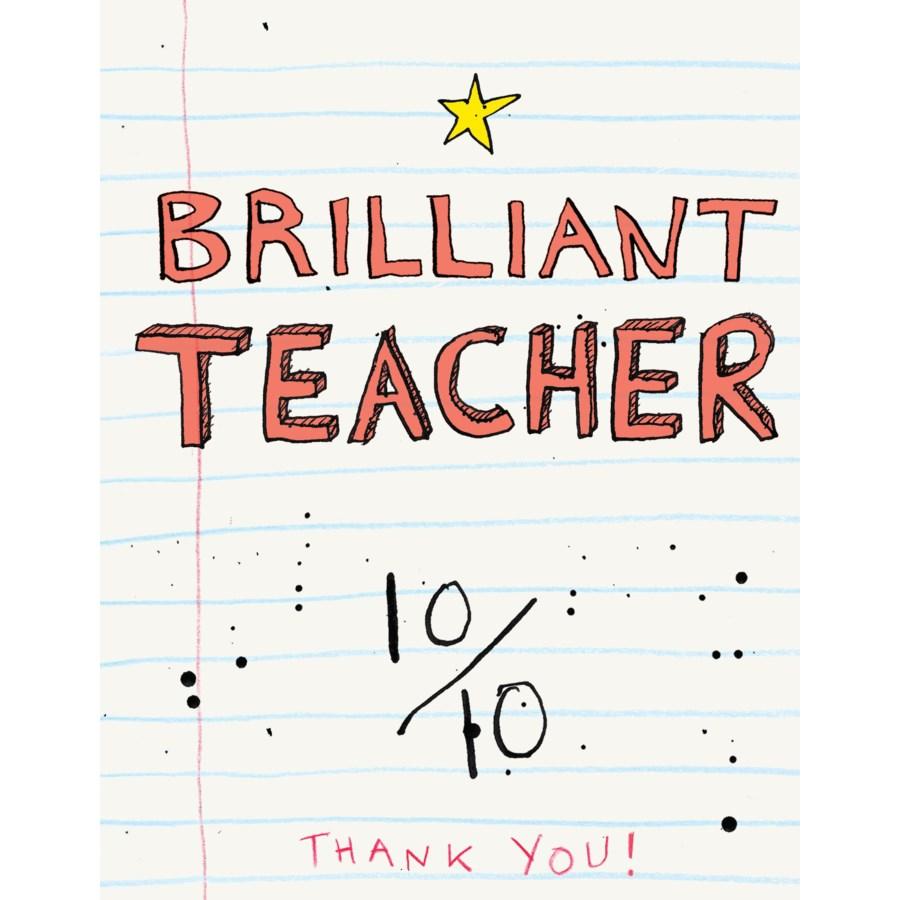Brilliant Teacher|Halfpenny