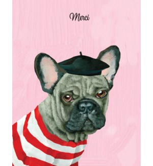 French bulldog thank you|Halfpenny