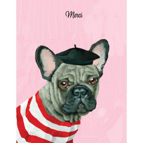 French bulldog thank you|Halfpenny