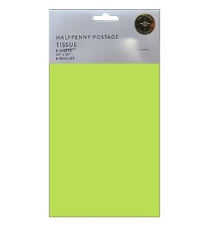 Light Green Tissue|Halfpenny