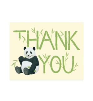Bamboo panda Halfpenny