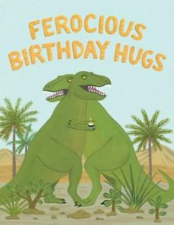 Dinosaurs Hugging Halfpenny