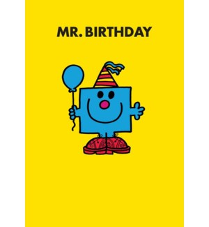 Mr Birthday 5x7|Hype