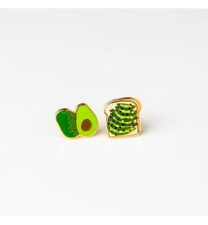 Avo Toast Earrings