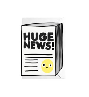 Huge News 4.5x6.5|Jolly Awesome