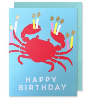 Crab With Candles|J Falkner