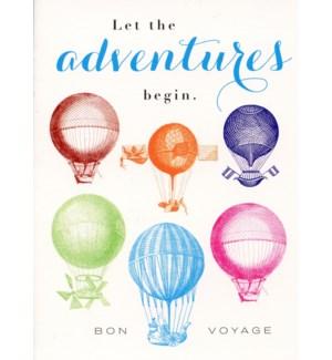 Adventures Begin 4.5x6.25|J Falkner