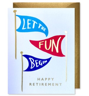 Retirement Flags |J Falkner