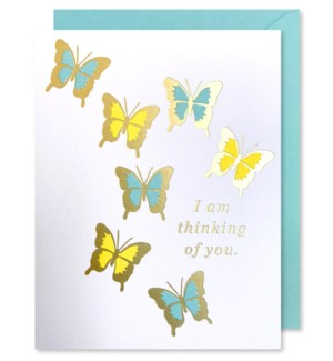 Butterflies Thinking Of You|J Falkner