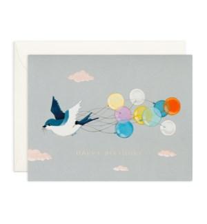 Swallow And Balloons|JooJoo