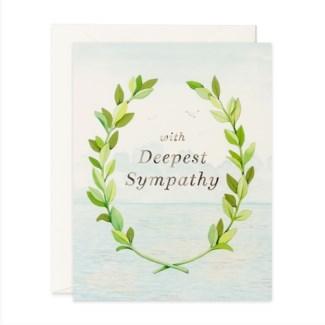 With Deepest Sympathy 4.5x5.5|JooJoo