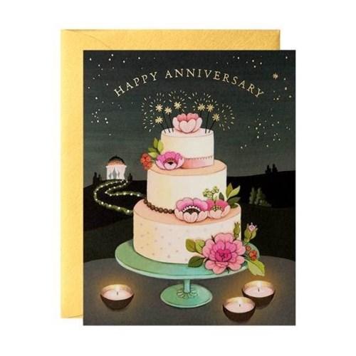 Anniversary Cake 4.5x5.5|JooJoo
