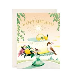 Lemon Cake Birthday|JooJoo
