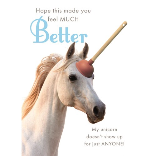 Sweetie Unicorn 5x7|J & M Martinez - get well - Paper E