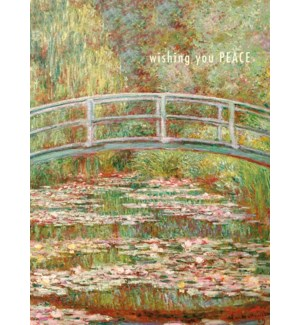 Monet Bridge Foil|J & M Martinez