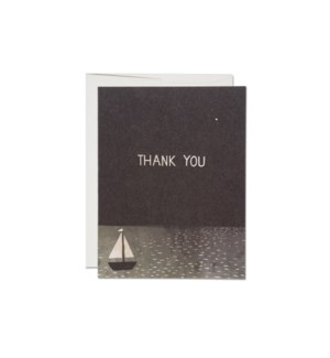 Boat Thank You boxed