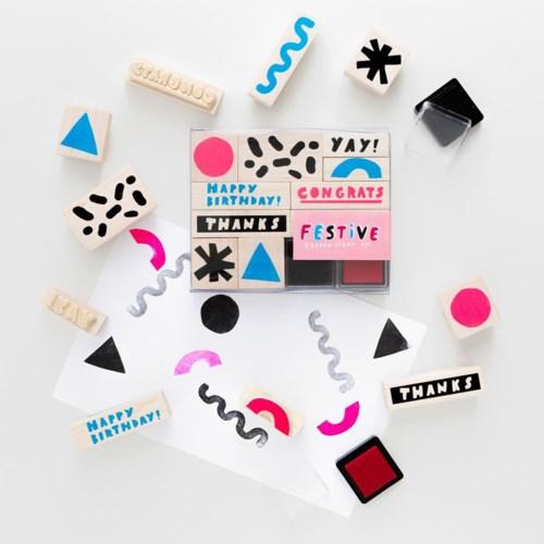 Festive Stamp Kit
