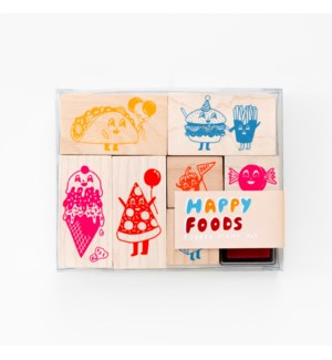Happy Foods Stamp Kit