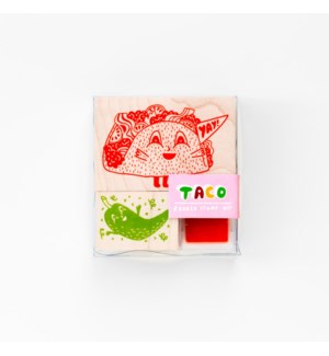 Taco & Hot Pepper Small Stamp Kit