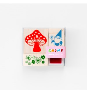 Gnome/Mushroom Small Stamp Kit