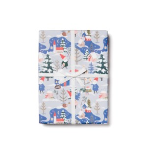 Holiday Gnomes roll - 3 sheets