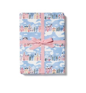 Little Pink Houses roll - 3 sheets