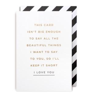 I Love You|Lagom Design