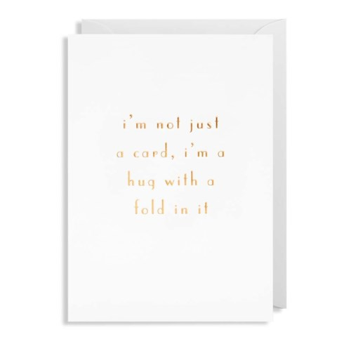 Hug With a Fold 4.25x6|Lagom Design