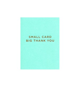 Big Thank You Mini|Lagom Design