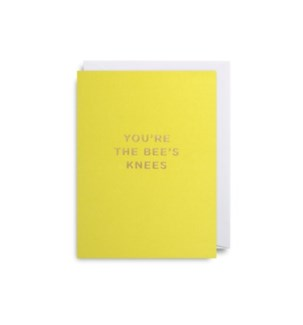 Youre the Bees Knees mini card|Lagom Design