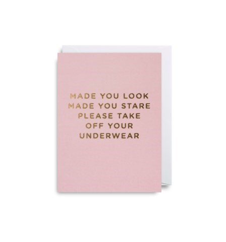 Made You Look Mini Card|Lagom Design