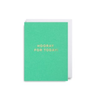 Hooray For Today Mini Card|Lagom Design