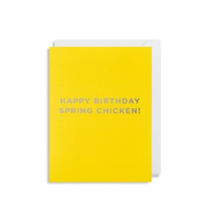 Spring Chicken Mini|Lagom Design