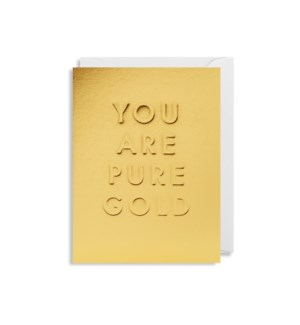 You Are Pure Gold Mini|Lagom Design
